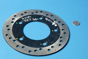 Brake disc front Sym Jet 50 Basix new shop soiled