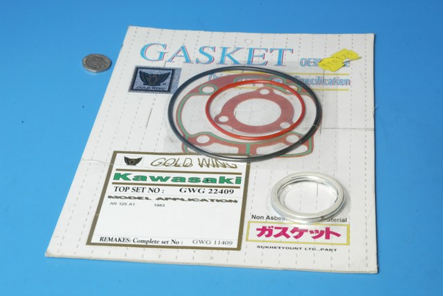 Top end gasket set Kawasaki AR125 116325