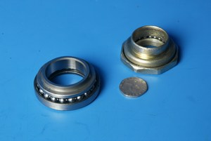 Steering head bearing set complete Sym Symply 50 new old stock