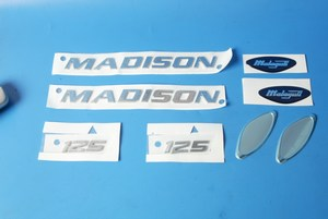 Complete sticker kit Malaguti Madison 125 181.323.00 new