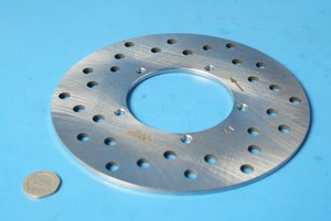 Brake disc rear VS18663 Gilera Runner 50