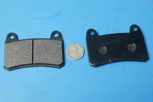 Brake pads front Keeway RKV125 new genuine 55120J800000