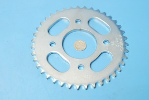 Rear sprocket genuine kymco 125 all models 4120A-KKA7-E000 new