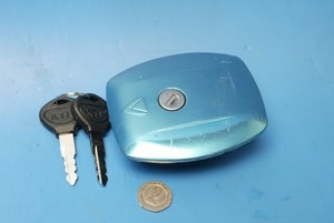petrol cap and key suzuki gs 125 blue new