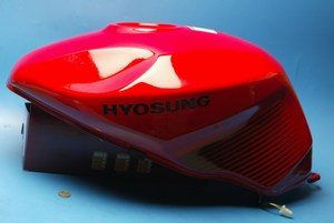 Petrol Tank Red New shop soiled GT650R 2008 2009 not EFI