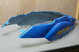 Under seat body panel Blue PGO Megga50 NE6250004H0 new