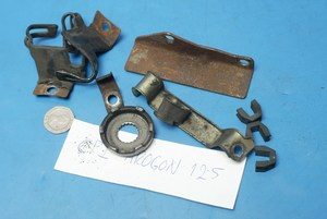 assorted brackets and parts CPI Aragon125 used