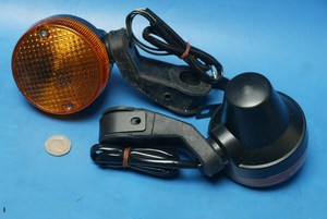 Universal handlebar mount trail indicator pair