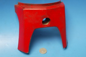 Front fork cover red Honda C90 Cub