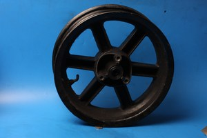 Front wheel used Stomp Asbo50