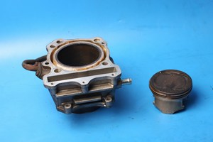Cylinder barrel and piston front Hyosung GT650 GT650S GT650R