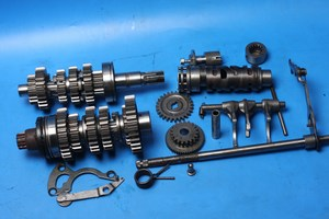 Gearbox and gear change components used Suzuki GS500