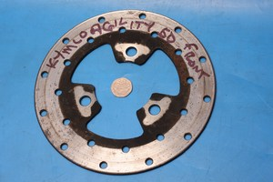 front brake disc used for Kymco Agility