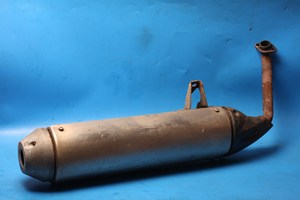 Exhaust used for Peugeot Elystar150