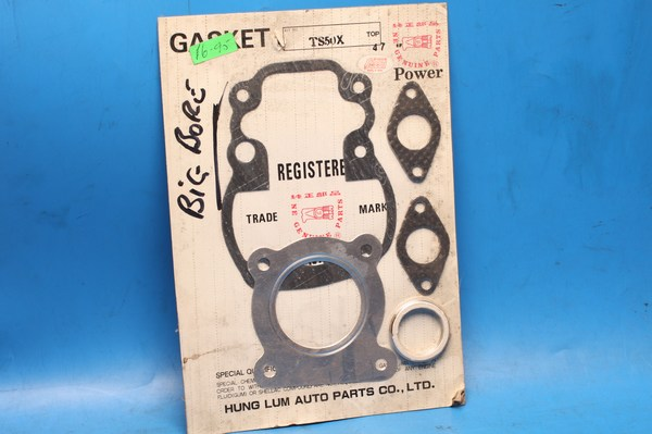 Gasket set top end big bore for 47mm piston Suzuki TS50X