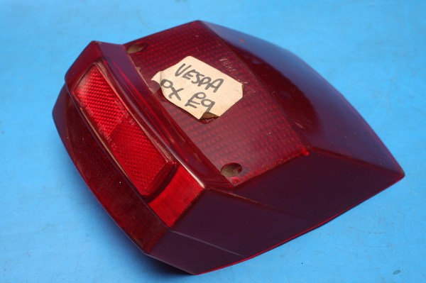 Rear light lens new pattern Vespa PX125