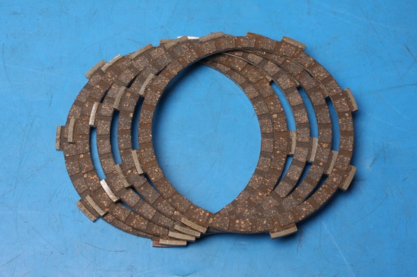 CK1146 EBC Heavy duty clutch plate set Honda CX500