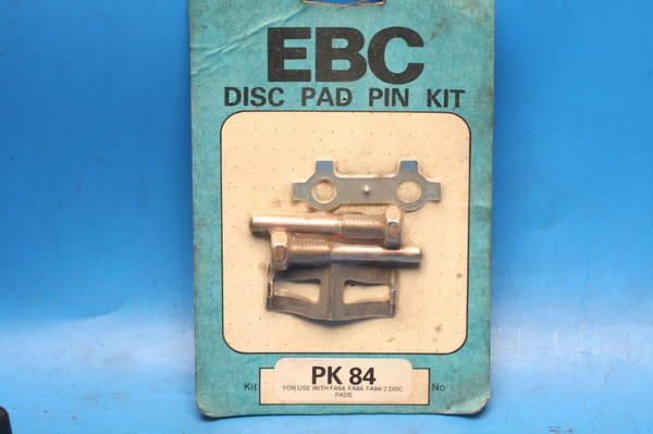 Brake pad retaining pin set PK84 for use with FA54, FA84, FA84/2