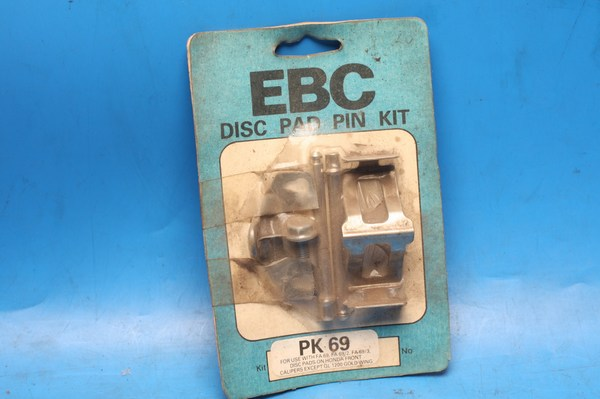 Brake pad retaining pin set PK69 for EBC FA69, FA69/2, FA69/3