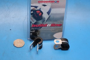Goodridge buildaline brake hose P Clip in Stainless