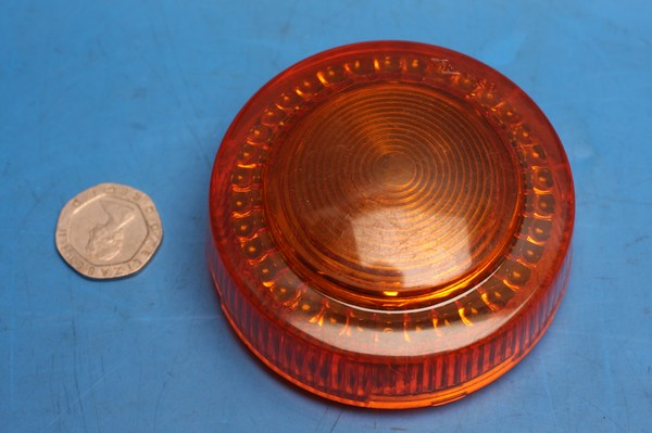 indicator lens RXS100,DT50,RD250 amber new