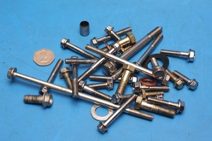 Assorted fasteners SK125 used