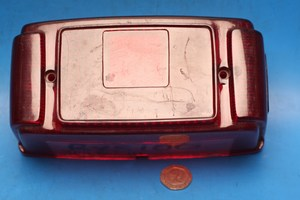 Rear tail stop light lens RXS100 new old stock