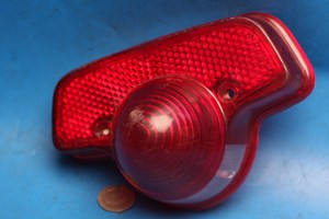 rear brake tail light lens for BSA C/B25,40,44 & T25 shop solled