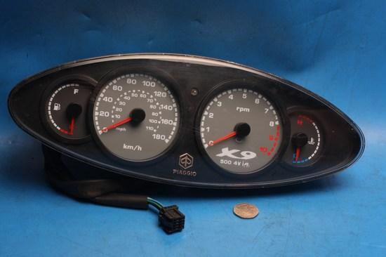 clocks/instruments used for PiaggioX9 500cc