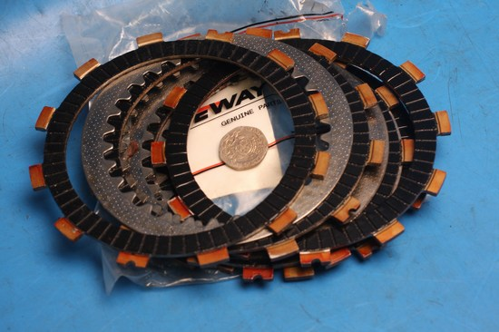 Clutch plate set complete used for Keeway TX125