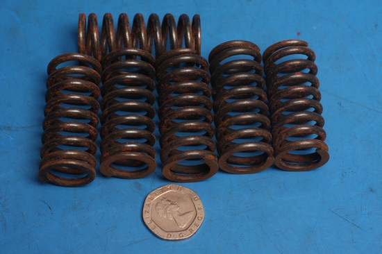Heavy duty clutch spring set Suzuki DR350 1991-1994