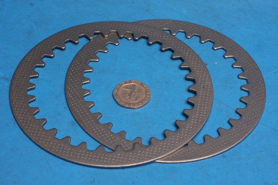 clutch drive(steel) plates for 125 models