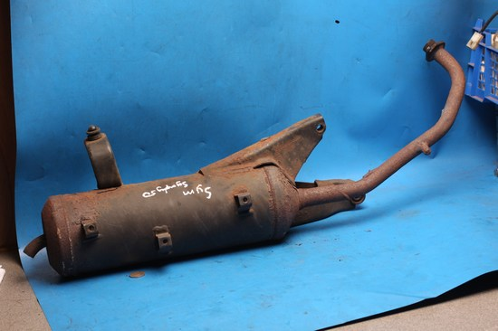exhaust system for Symply50 used rusty but sound