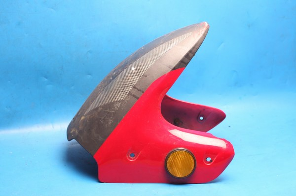 front mudguard red used for lexmoto gladiator