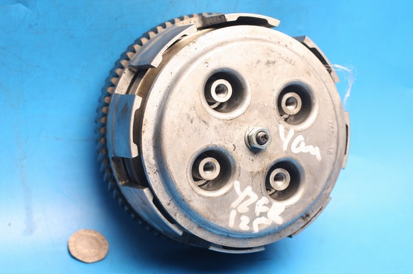 Clutch assy 4 driven plates only YZFR125 used