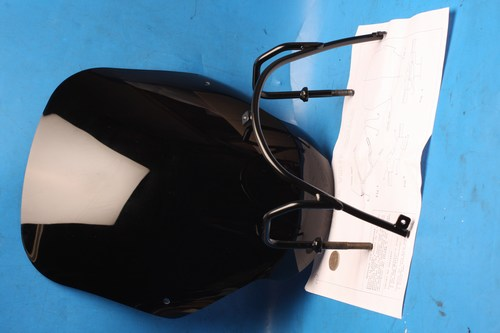 Scooter screen and mounting bracketNew Peugeot 50 models