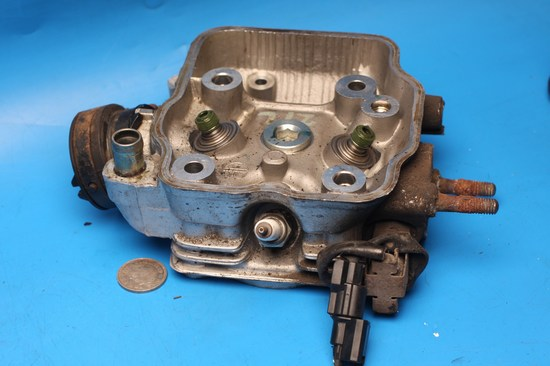 cylinder head bare used CBR125