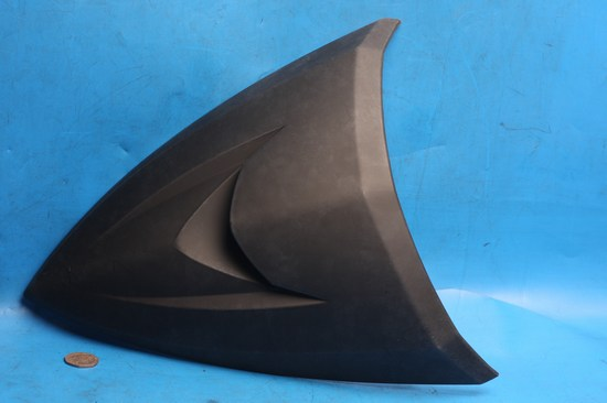 front fairing infill panel mat black Nipponia Miro New
