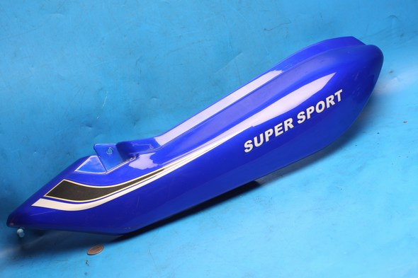 Side panel right hand rearl in blue Used Suzuki EN125