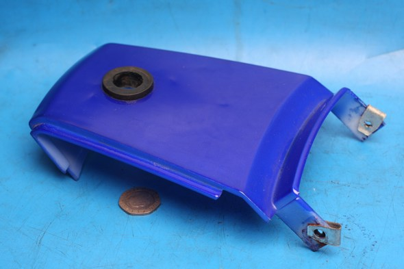 Rear centre underseat infill panel in blue Used Suzuki EN125