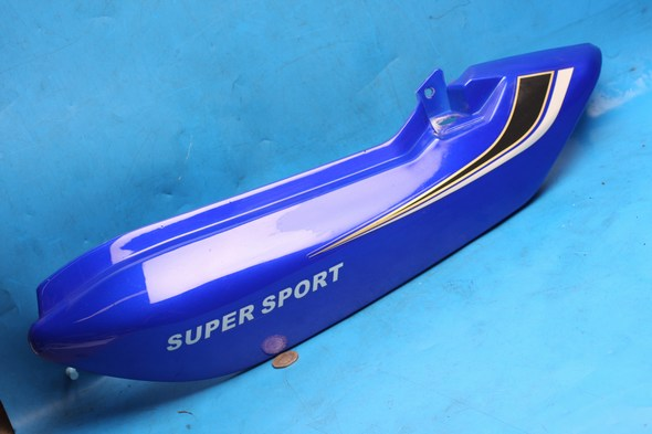 Side panel left hand rear in blue Used Suzuki EN125