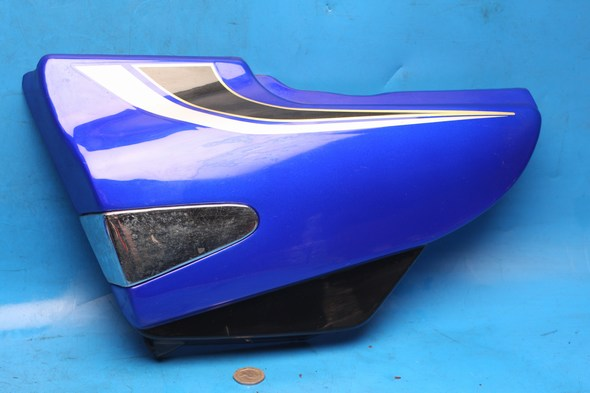 Left hand side panel in blue Used Suzuki EN125