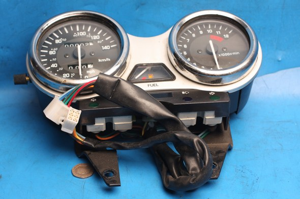 Clocks/instruments Used Suzuki EN125