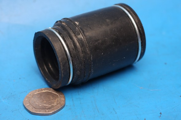 Exhaust adaptor down pipe to expansion chamber Generic Trigger50