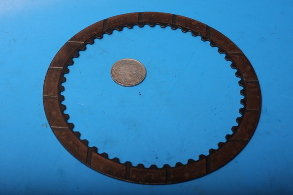 clutch plate driven bronze used 69-0559