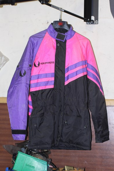 Belstaff roadmaster motorcycle jacket pink/purple/black S