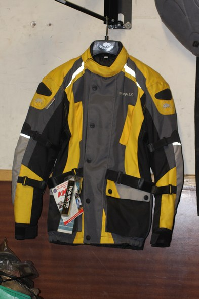 Buffalo storm motorcycle jacket yellow XXS