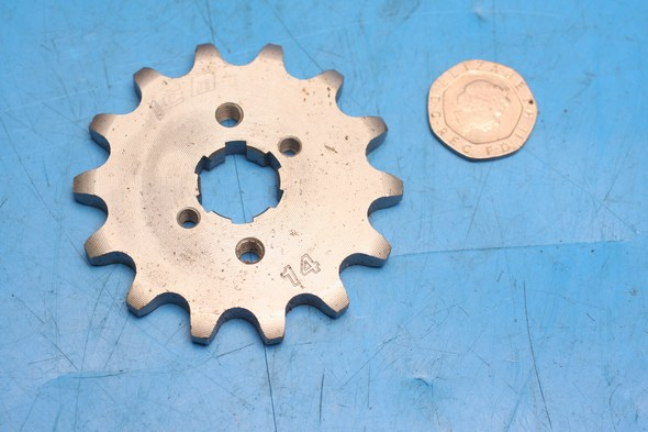 Front sprocket JTF 1127 and 1128 x 14 IGM 1405-1564