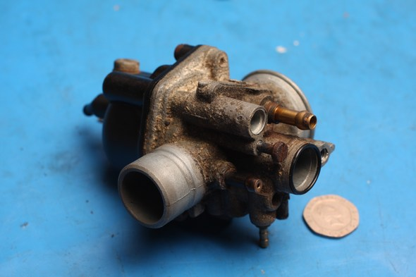 carburettor incomplete yamaha neos 50
