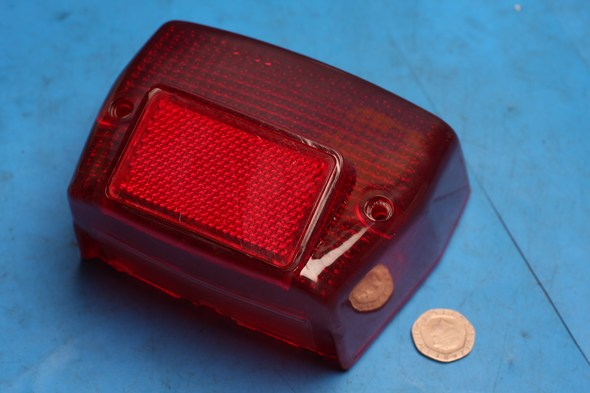 Brake tail light lens Honda C90 cub nos